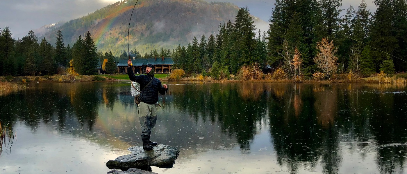 Fly Fishing on Freestone Lake
