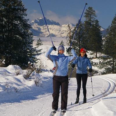 Nordic skiing Winthrop
