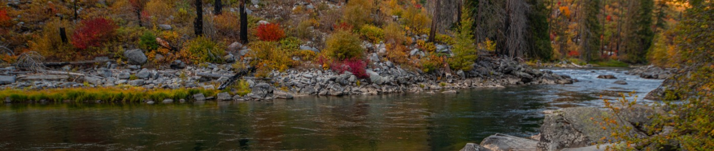 Tumwater Canyon in Fall