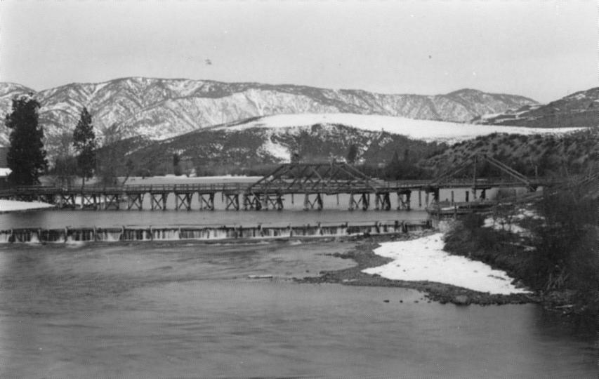 First dam at Lake Chelan