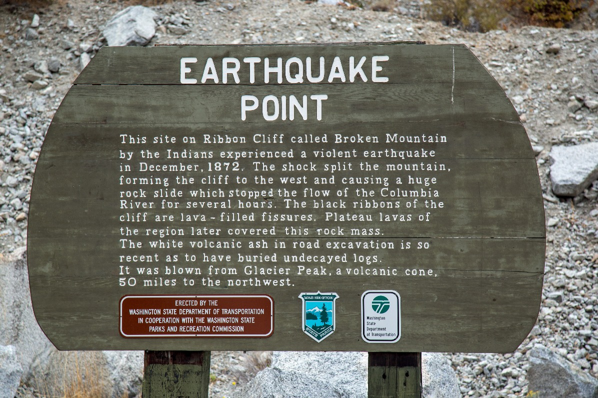 Earthquake Point Pullout on 97A