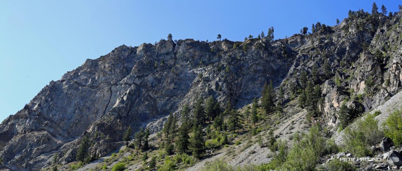 Ribbon Cliffs - Broken Mountain