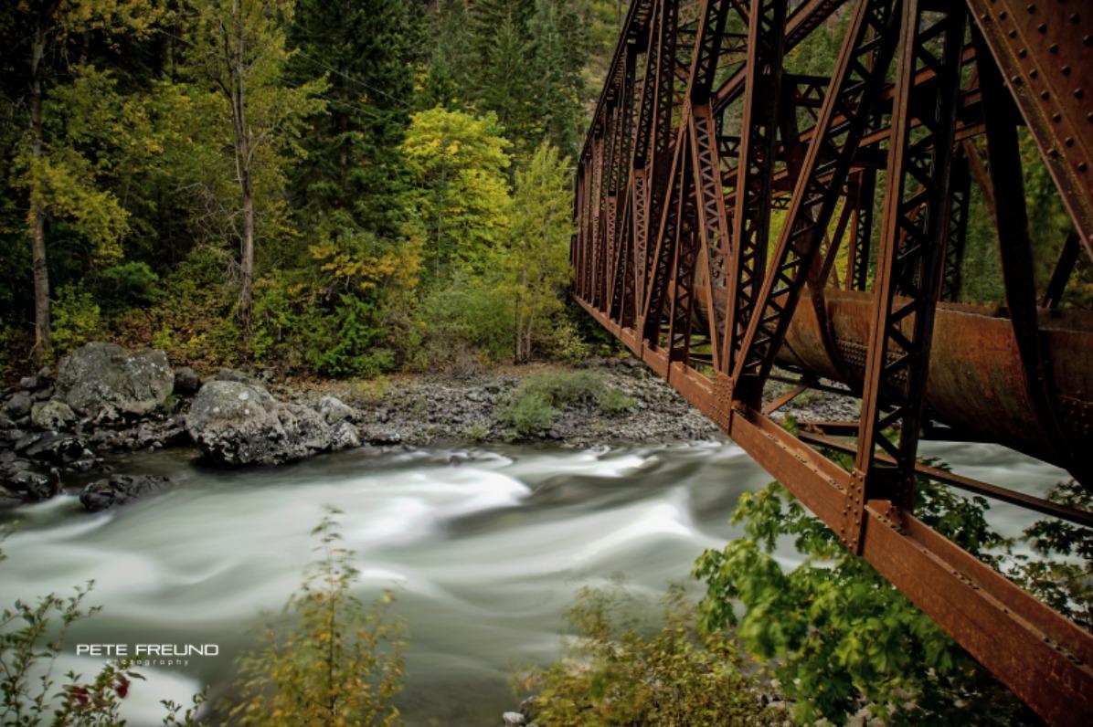 Pipeline Bridge over Wenatchee River
