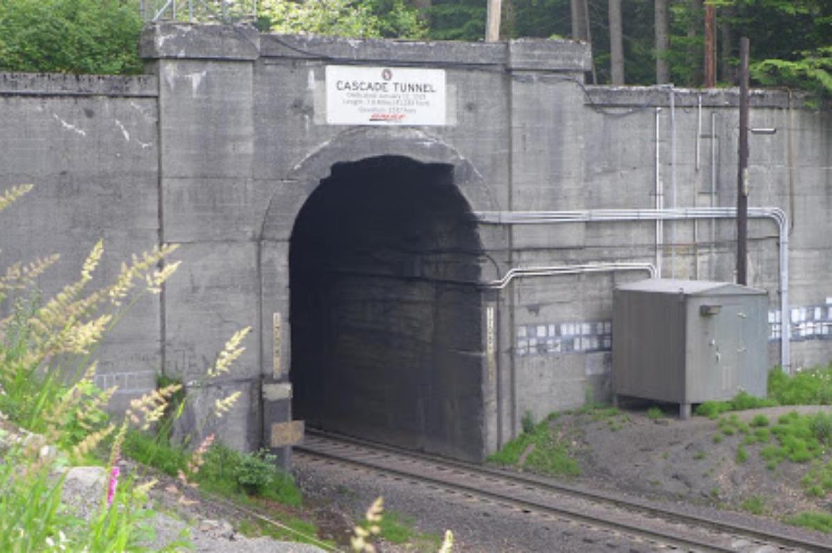 Cascade Tunnel Entrance