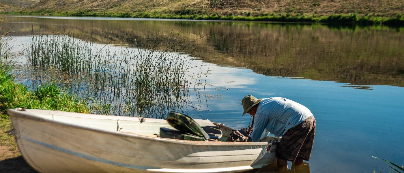 Lakes fly fishing