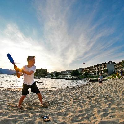 Campbells Baseball on the Beach