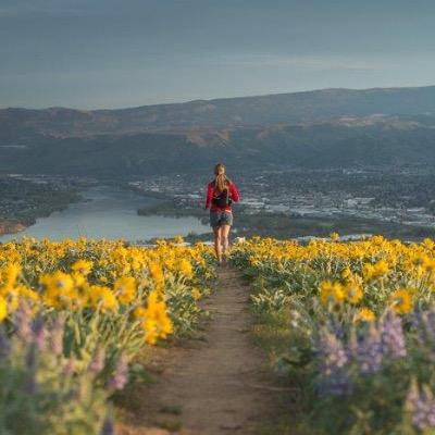 Wenatchee Valley Running on Burch Mountain
